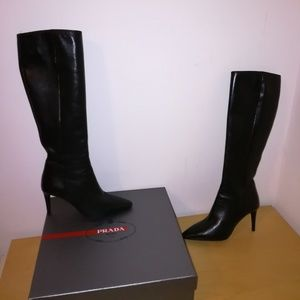 Brand New Prada leather boot